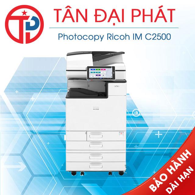 Driver máy photocopy Ricoh IM C2500 mới nhất