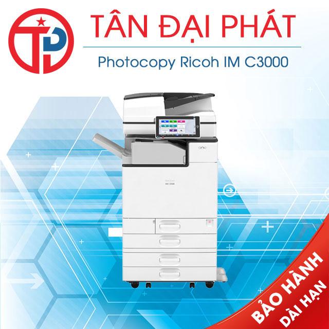 Driver máy photocopy Ricoh IM C3000 mới nhất