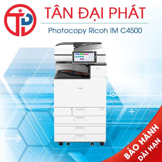 Driver máy photocopy Ricoh IM C4500 mới nhất